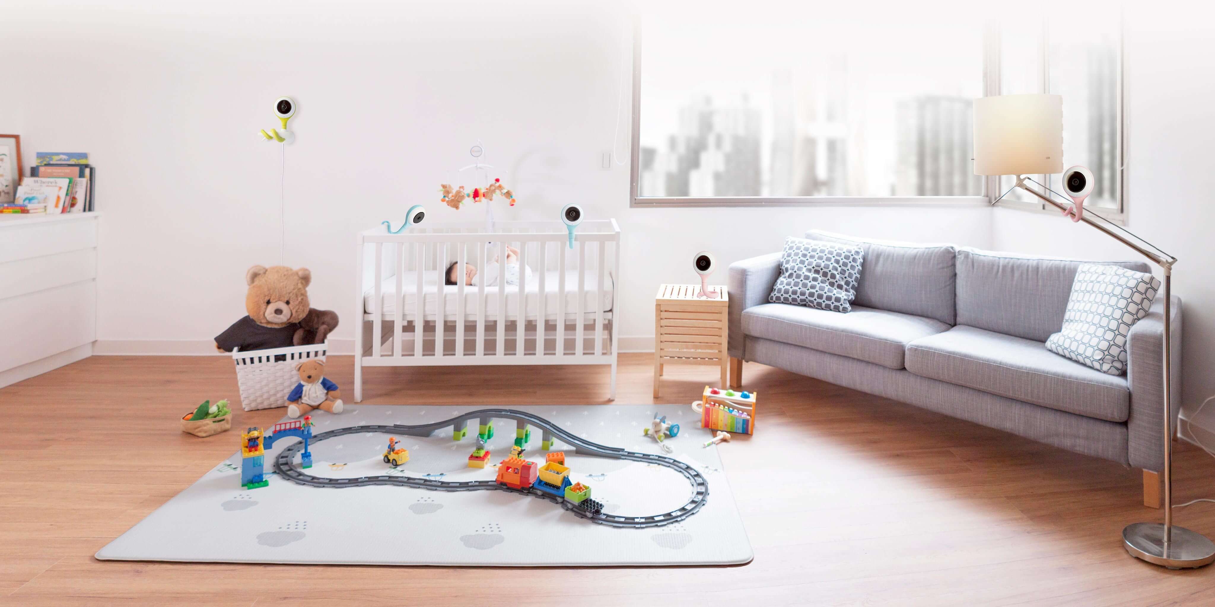 Where can I install/place Lollipop Baby Camera? - Lollipop Smart Baby  Monitor - A Revolutionary Baby Caring System